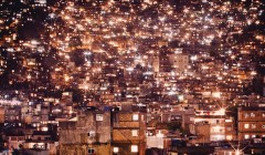 Rocinha at night by Kay Verhe