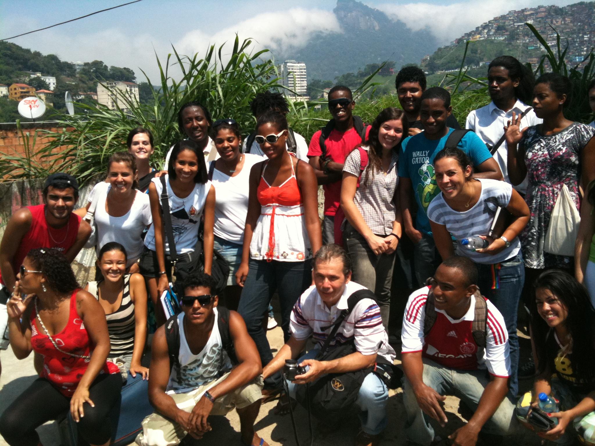2011 Community Journalism program field trip