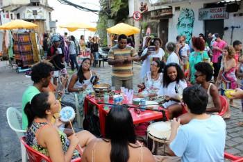 Samba in Vidigal. Photo By Patrick Isensee