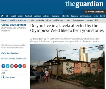 Guardian favela series