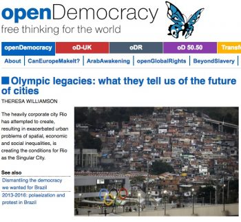 openDemocracy home on August 5-7, 2016