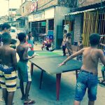 Ping Pong match in Pica-Pau