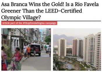 Asa Branca wins in LEED-ND points