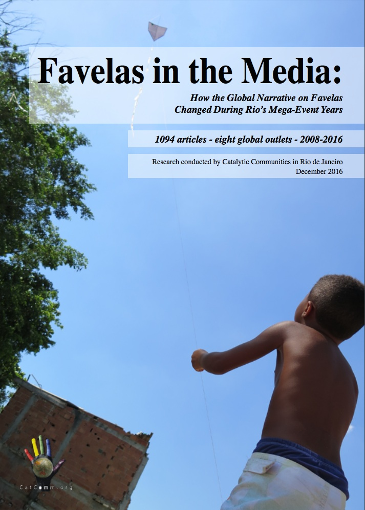 Favelas in the Media Report cover
