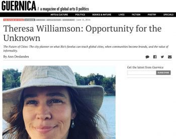 Guernica interview with Theresa Williamson