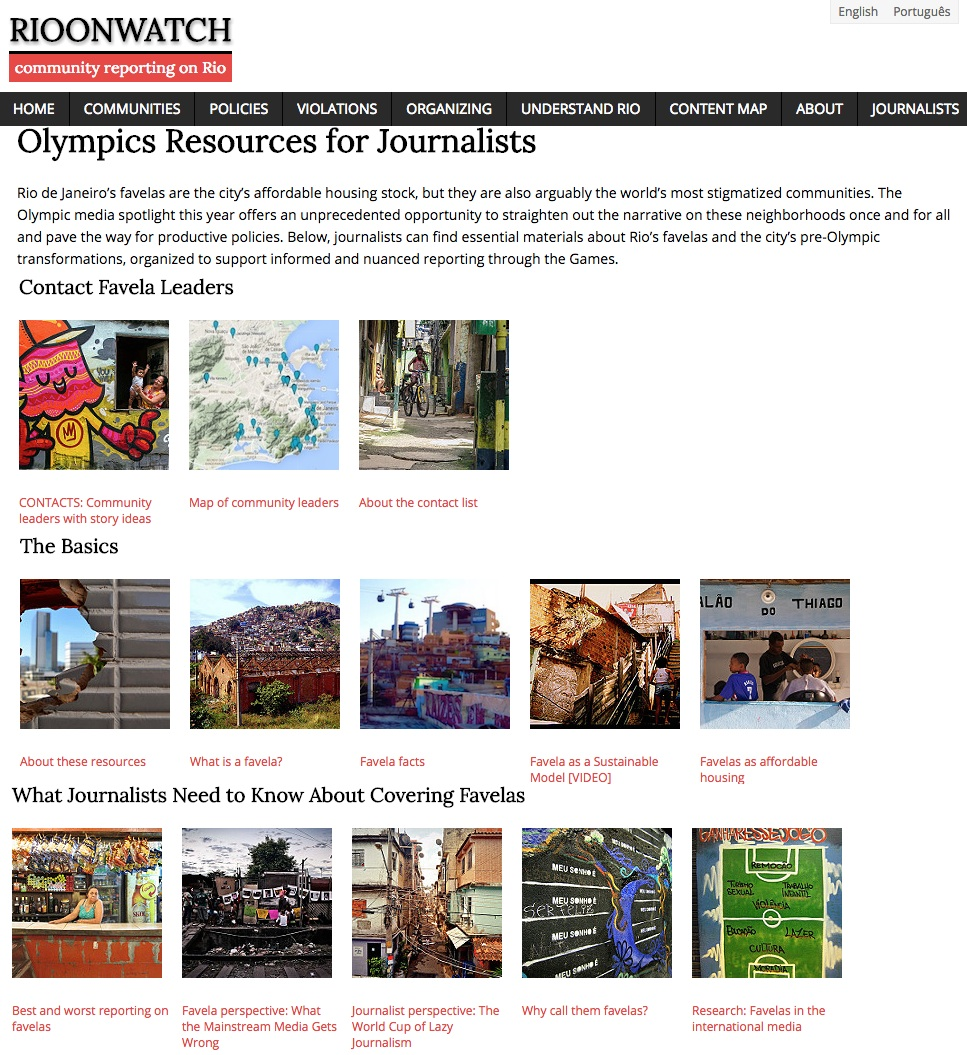 Olympics Resources for Journalists