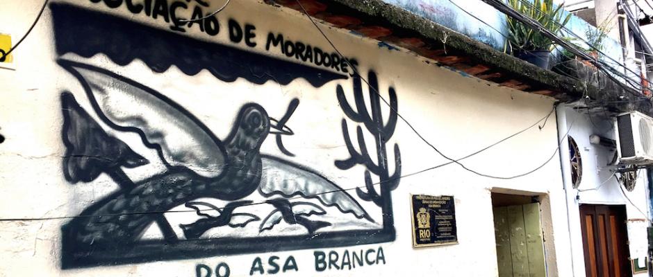Asa Branca Association entrance
