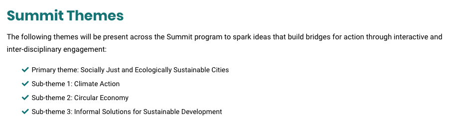 Submit Your Abstract to EcoCity World Summit 2019