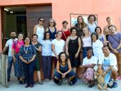SESC participants with Vila Autódromo leaders. Photo by Luiza de Andrade